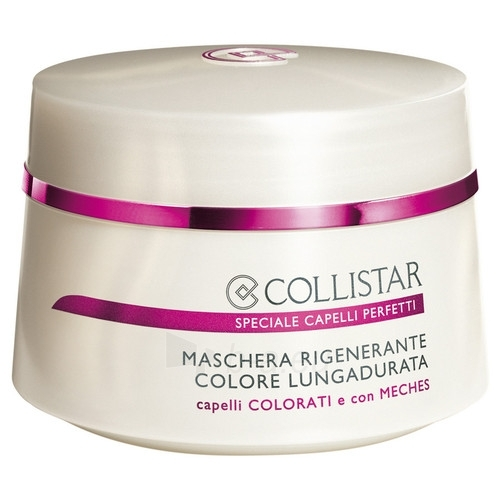 Regeneruojanti kaukė dažytiems plaukams. Collistar Regenerating Colour Mask Cosmetic 200ml (be dėžutės) Paveikslėlis 1 iš 1 2508316000219