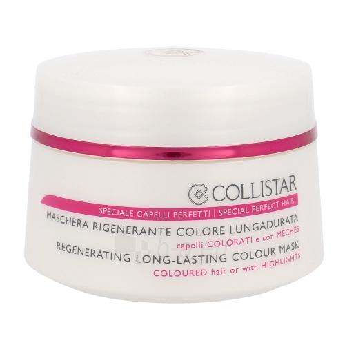 Regeneruojanti kaukė dažytiems plaukams. Collistar Regenerating Colour Mask Cosmetic 200ml Paveikslėlis 1 iš 1 2508316000203