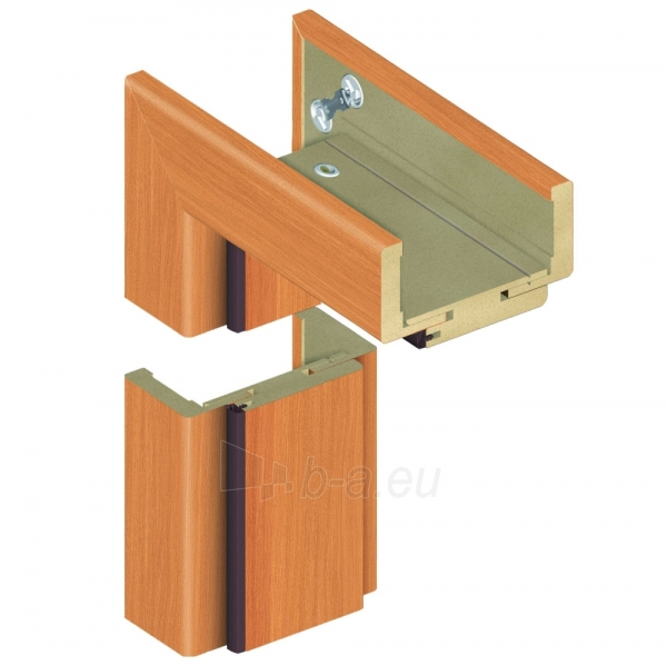 Adjustable door frame INVADO D80 095/114, oak (B224) with rims Paveikslėlis 1 iš 1 237930400460