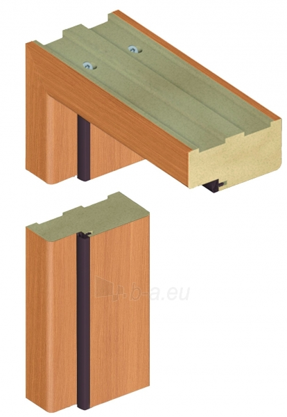 Adjustable door frame INVADO D80 44/90, oak (B224) with rims Paveikslėlis 1 iš 1 237930400516