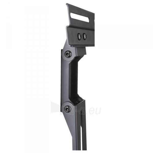 Reguliuojamas laikiklis Techly garsiakalbiui Soundbar VESA 10kg juodas Paveikslėlis 4 iš 7 310820055811