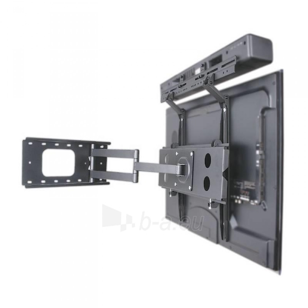 Reguliuojamas laikiklis Techly garsiakalbiui Soundbar VESA 10kg juodas Paveikslėlis 6 iš 7 310820055811
