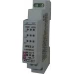 Relė(Kontroleris) tinklo valdymo(trifazio tinklo sutrikimų:įtampos nebuvimo, fazių sekos, asimetrijos, fazės nebuvimo), 230/400V AC, IP20, WKS-3, ETI 002470300 Paveikslėlis 1 iš 2 310820055960