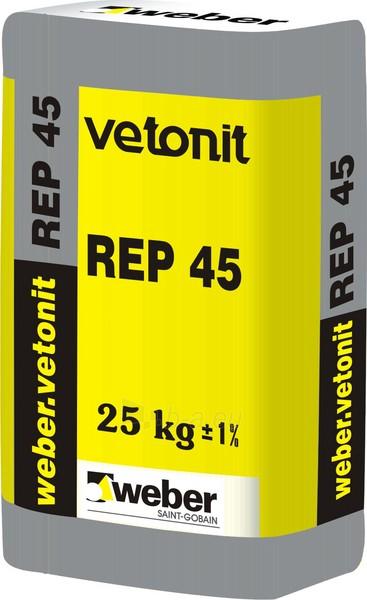 Remontinis mišinys weber.vetonit REP 45 25kg Paveikslėlis 1 iš 1 236750000006