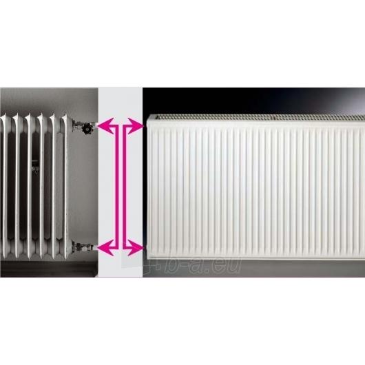 Renovacinis Plieninis radiatorius HM HEIZKORPER, tipas 20 Paveikslėlis 2 iš 2 270621002720