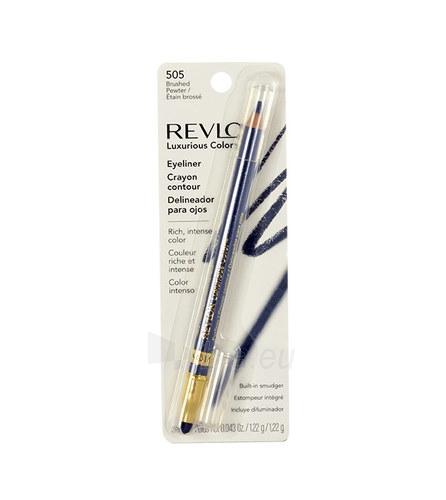Revlon Luxurious Color Eyeliner Cosmetic 1,22g Shade 505 Brushed Pewter Paveikslėlis 1 iš 1 2508713000489