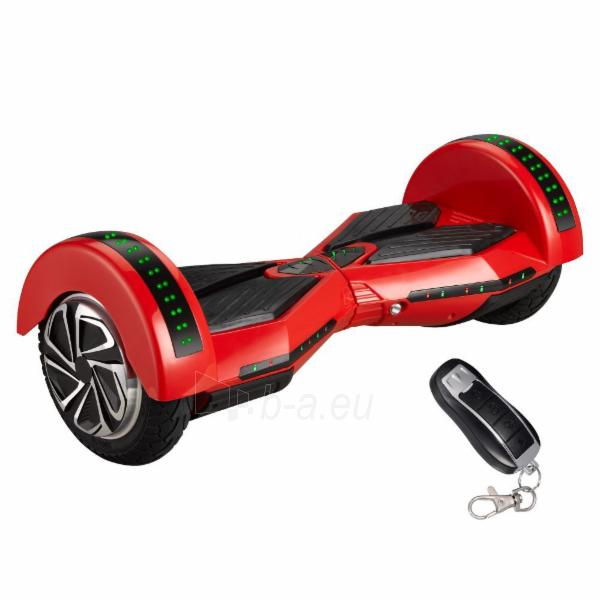 eBoard M03 Music (Hoverboard, Segway, Scooter) black / red Paveikslėlis 1 iš 1 310820014063