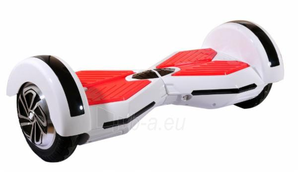 eBoard M03 Music (Hoverboard, Segway, Scooter) white / red Paveikslėlis 1 iš 1 310820014062