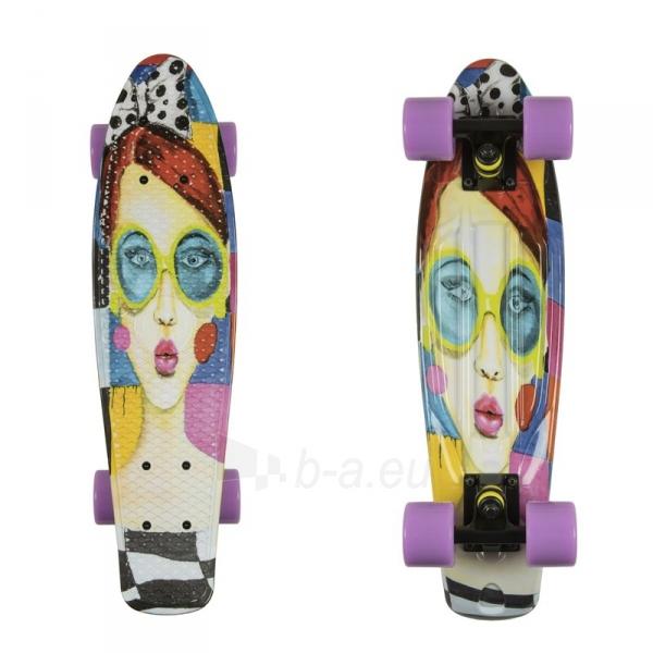 Riedlentė Penny Board ArtFish Face 22 Paveikslėlis 1 iš 2 310820091296