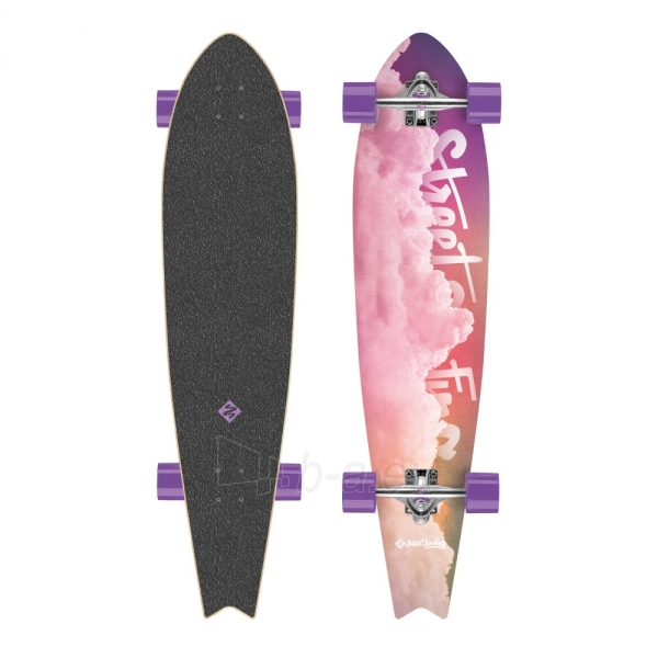 Skrituļdēlis Street Surfing Fishtail - Cloudy 42 Longboard Paveikslėlis 1 iš 6 310820012299