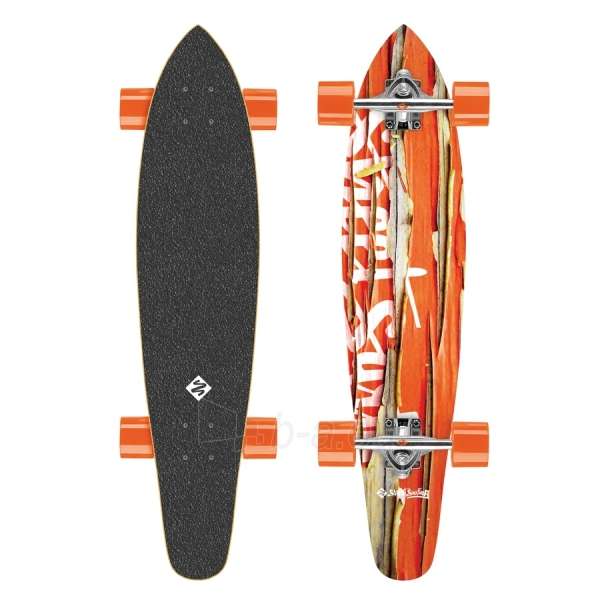 Riedlentė Street Surfing Kicktail - Damaged Orange 36 Longboard Paveikslėlis 1 iš 6 310820012293