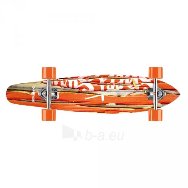 Riedlentė Street Surfing Kicktail - Damaged Orange 36 Longboard Paveikslėlis 5 iš 6 310820012293