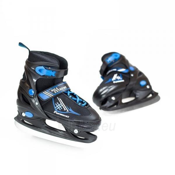 Skrituļslidas - slidas 2in1 Nils Extreme Black/Blue NH7104 30-33 Paveikslėlis 2 iš 3 310820226249