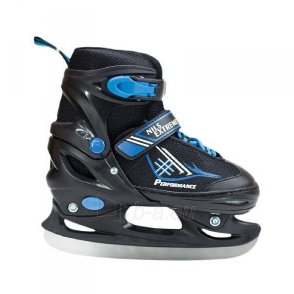 Skrituļslidas - slidas 2in1 Nils Extreme Black/Blue NH7104 30-33 Paveikslėlis 3 iš 3 310820226249