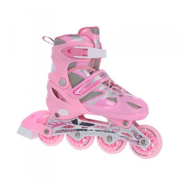 Skrituļslidas - slidas Nils Extreme 2in1 Pink 39-42 NH18366 A Paveikslėlis 1 iš 3 310820199227