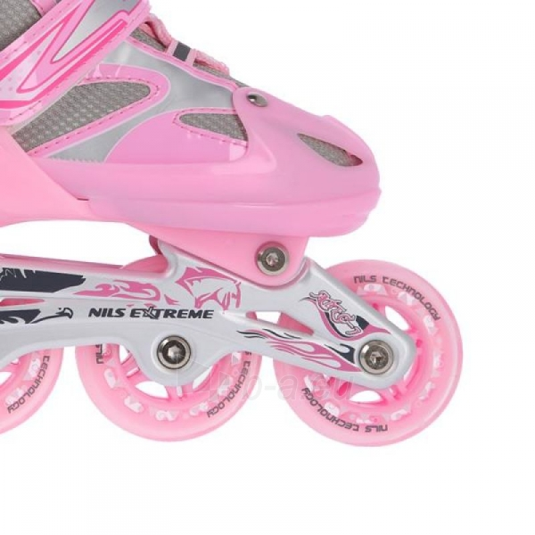Skrituļslidas - slidas Nils Extreme 2in1 Pink 39-42 NH18366 A Paveikslėlis 2 iš 3 310820199227