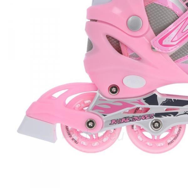 Skrituļslidas - slidas Nils Extreme 2in1 Pink 39-42 NH18366 A Paveikslėlis 3 iš 3 310820199227