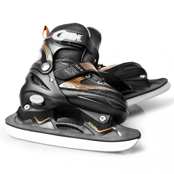 Skrituļslidas - slidas Spokey DUE 2IN1, black Paveikslėlis 4 iš 9 310820217934