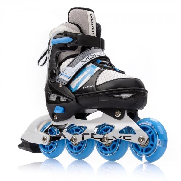 Skrituļslidas-slidas METEOR VOLTER grey/ black/ blue Paveikslėlis 1 iš 4 310820225846