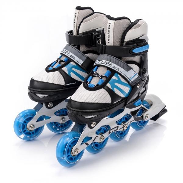 Skrituļslidas-slidas METEOR VOLTER grey/ black/ blue Paveikslėlis 3 iš 4 310820225846