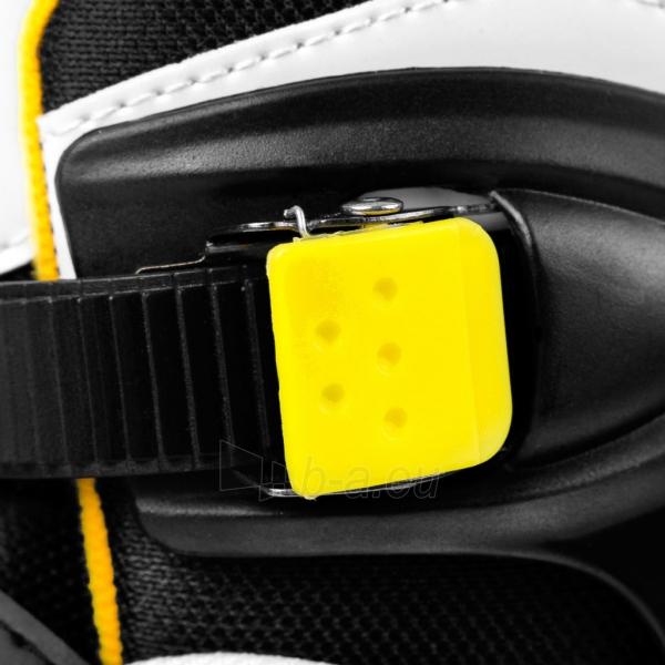 Skrituļslidas TONY black/white/geltona Paveikslėlis 3 iš 7 310820217959