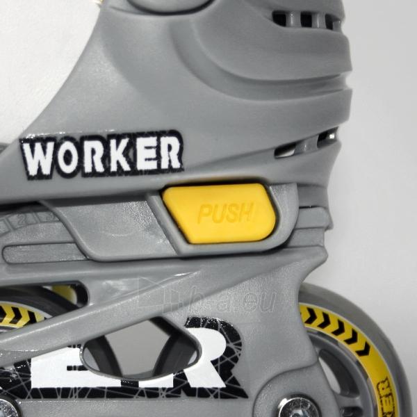 Riedučiai WORKER Condor dydis 30-33 Paveikslėlis 3 iš 4 30083600089
