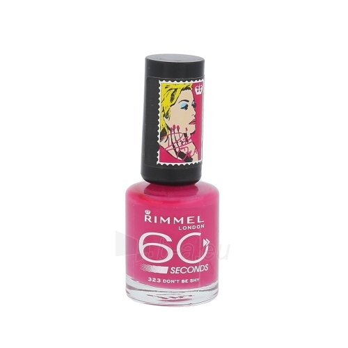 Rimmel London 60 Seconds Nail Polish By Rita Ora 8ml 323 Dont Be Shy Paveikslėlis 1 iš 1 250874000279