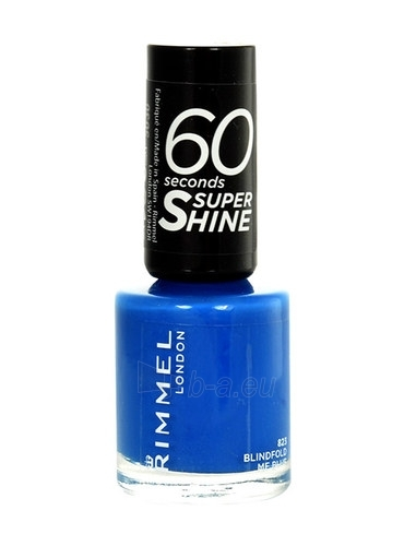 Rimmel London 60 Seconds Super Shine Nail Polish Cosmetic 8ml 321 It´s The Cherry On Top Paveikslėlis 1 iš 1 250874000984
