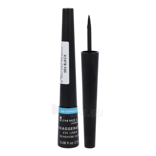 Rimmel London Exaggerate Eye Liner Waterproof Cosmetic 2,5ml Paveikslėlis 1 iš 1 2508713000141