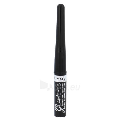 Rimmel London Glam Eyes Liquid Liner Cosmetic 3,5ml Paveikslėlis 1 iš 1 2508713000142
