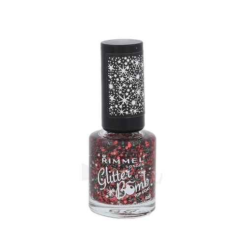 Rimmel London Glitter Bomb Top Coat Cosmetic 8ml 020 Midnight Mistletoe Paveikslėlis 1 iš 1 250874000687