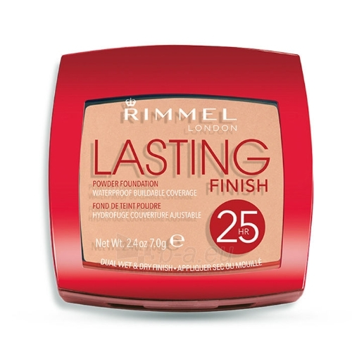 Rimmel London Lasting Finish 25h Powder Foundation Cosmetic 7g 003 Silky Beige Paveikslėlis 1 iš 1 250873300622