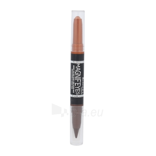 Rimmel London Magnif Eyes Eye Shadow And Kohl Kajal Cosmetic 1,6g Shade 002 Kissed By A Rose Gold Paveikslėlis 1 iš 1 2508713000492