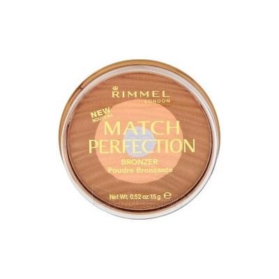 Rimmel London Match Perfection Bronzer Cosmetic 15g Medium Dark Paveikslėlis 1 iš 2 250873300415