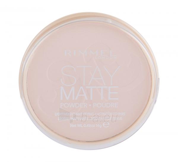 Rimmel London Stay Matte Long Lasting Pressed Powder 14g Pink Blossom Paveikslėlis 2 iš 2 250873300398