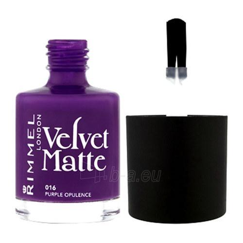 Rimmel London Velvet Matte Nail Polish Cosmetic 12ml 014 Sumptuous Red Paveikslėlis 1 iš 1 250874000621