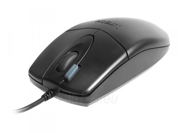 Rinkinys: klaviatūra + pelė A4-Tech KM-72620D USB, US Juoda Paveikslėlis 4 iš 4 250255701252