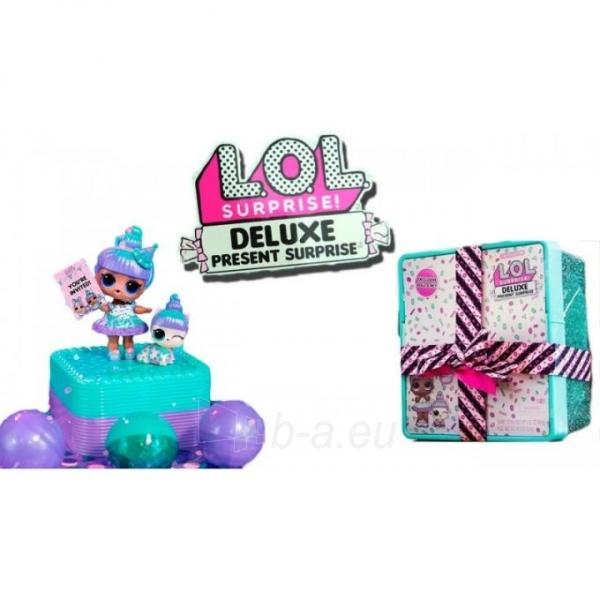 Rinkinys 570707 L.O.L Surprise Present Surprise Deluxe Paveikslėlis 2 iš 6 310820252891