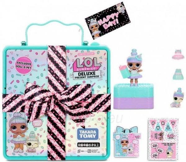 Rinkinys 570707 L.O.L Surprise Present Surprise Deluxe Paveikslėlis 5 iš 6 310820252891