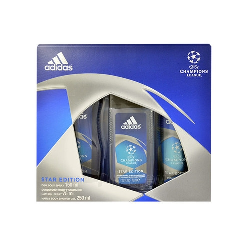 Kit Adidas UEFA Champions League Star Edition dezodorants 150ml Paveikslėlis 1 iš 1 2508200001294