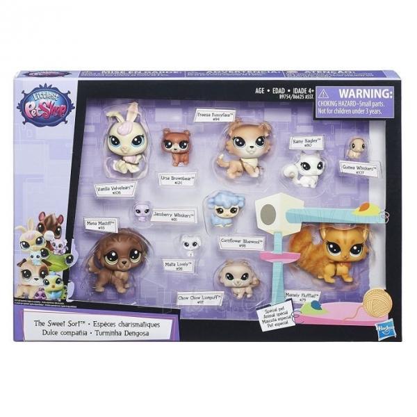 Rinkinys B9754 Littlest Pet Shop Lps Pet Pack Cuddliest Paveikslėlis 1 iš 2 310820146733