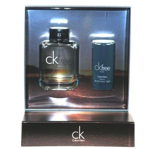 Set Calvin Klein Free EDT 100ml + 75ml deodorant Paveikslėlis 1 iš 1 250812000221