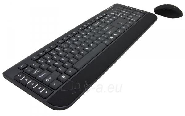 Rinkinys Esperanza EK120: Bevielė klaviatūra Pelė USB | 2.4 GHz Paveikslėlis 1 iš 7 250255701076