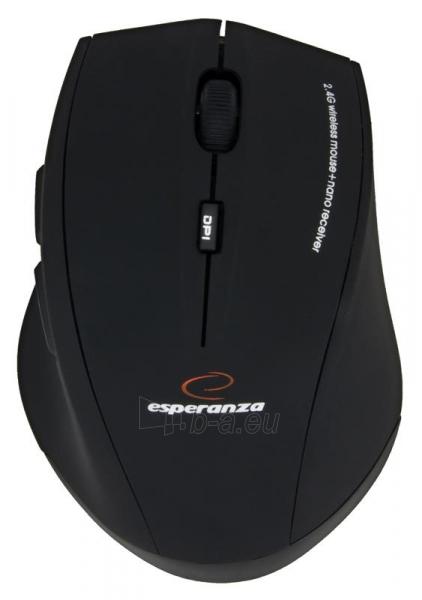 Rinkinys Esperanza EK120: Bevielė klaviatūra Pelė USB | 2.4 GHz Paveikslėlis 7 iš 7 250255701076