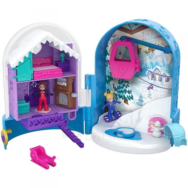Rinkinys FRY35 / FRY37 Polly Pocket Snowball Surprise™ Compact Paveikslėlis 2 iš 6 310820230709