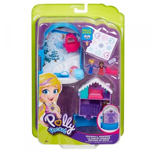Rinkinys FRY35 / FRY37 Polly Pocket Snowball Surprise™ Compact Paveikslėlis 3 iš 6 310820230709