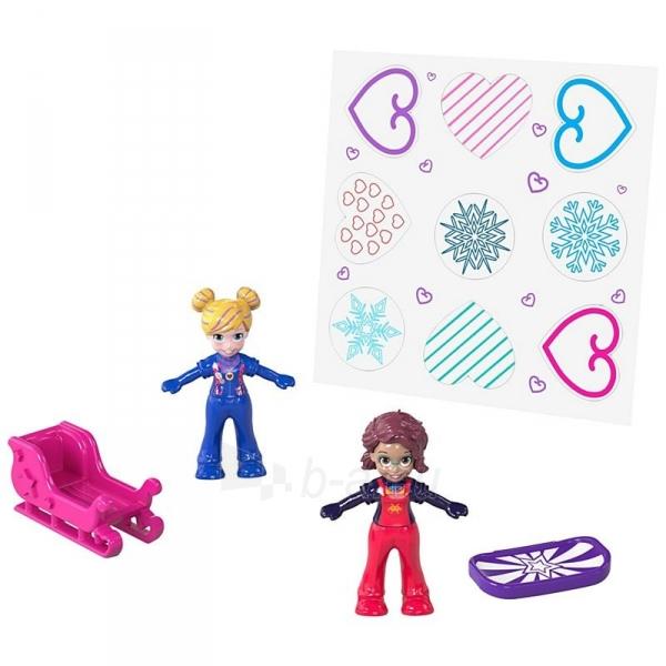 Rinkinys FRY35 / FRY37 Polly Pocket Snowball Surprise™ Compact Paveikslėlis 6 iš 6 310820230709