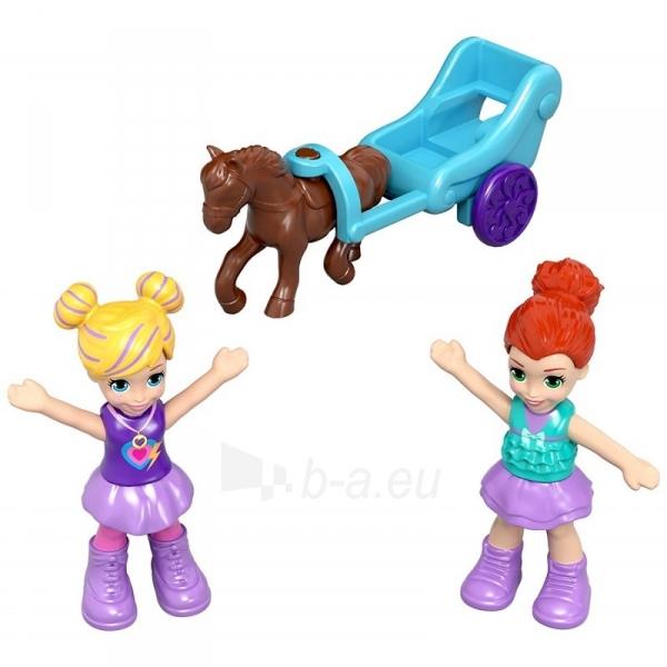 Rinkinys FRY35 / GCJ88 Mattel Polly Pocket Tiny Twirlin Music Box Paveikslėlis 5 iš 6 310820230599