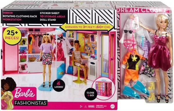 Rinkinys GBK10 Barbie Dream Closet Paveikslėlis 1 iš 6 310820230580