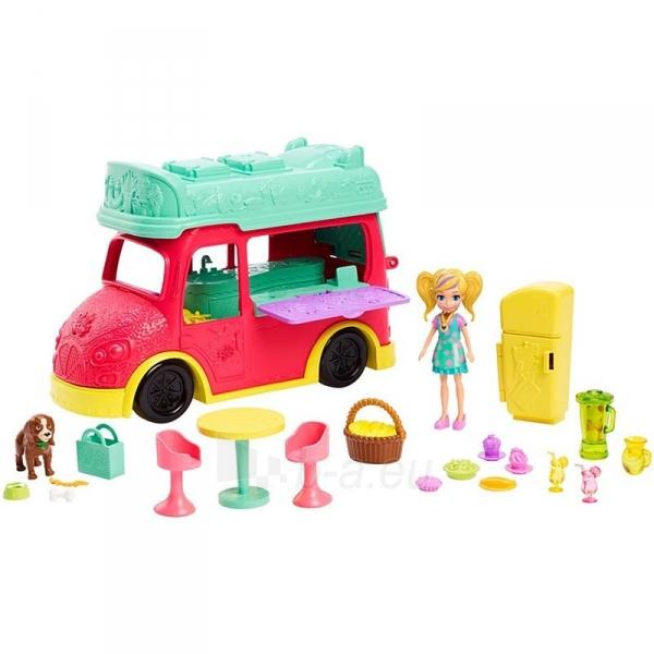 Rinkinys GDM20 Polly Pocket®Swirlin Smoothie Truck Paveikslėlis 3 iš 6 310820230595